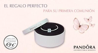 Pandora, el regalo perfecto para su primera comunión