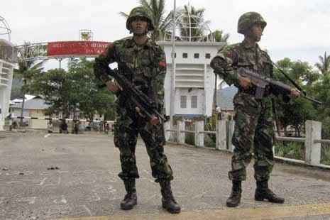 Jelang Natal & Tahun Baru Kodam IX/Udayana Tingkatkan Penjagaan Perbatasan NKRI