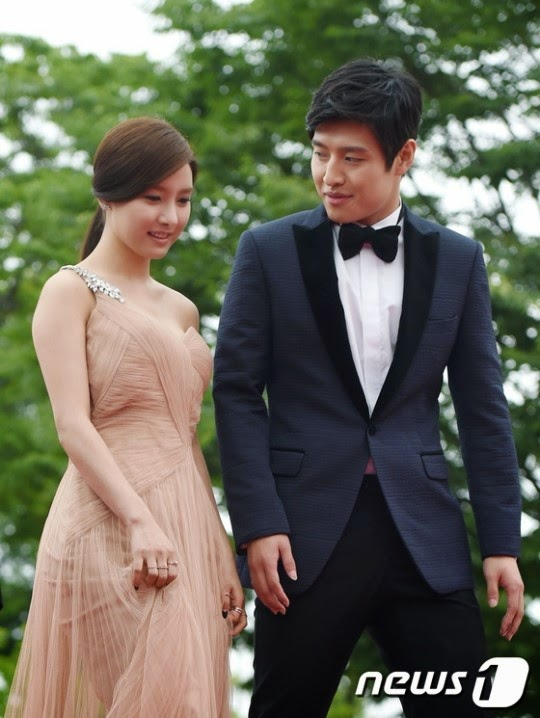 Kim So-eun (Hangul: 김소은, Hanja: 金昭誾) and Kang Ha-neul (강하늘) at the 18th Puchon International Fantastic Film Festival (PiFan) 2014