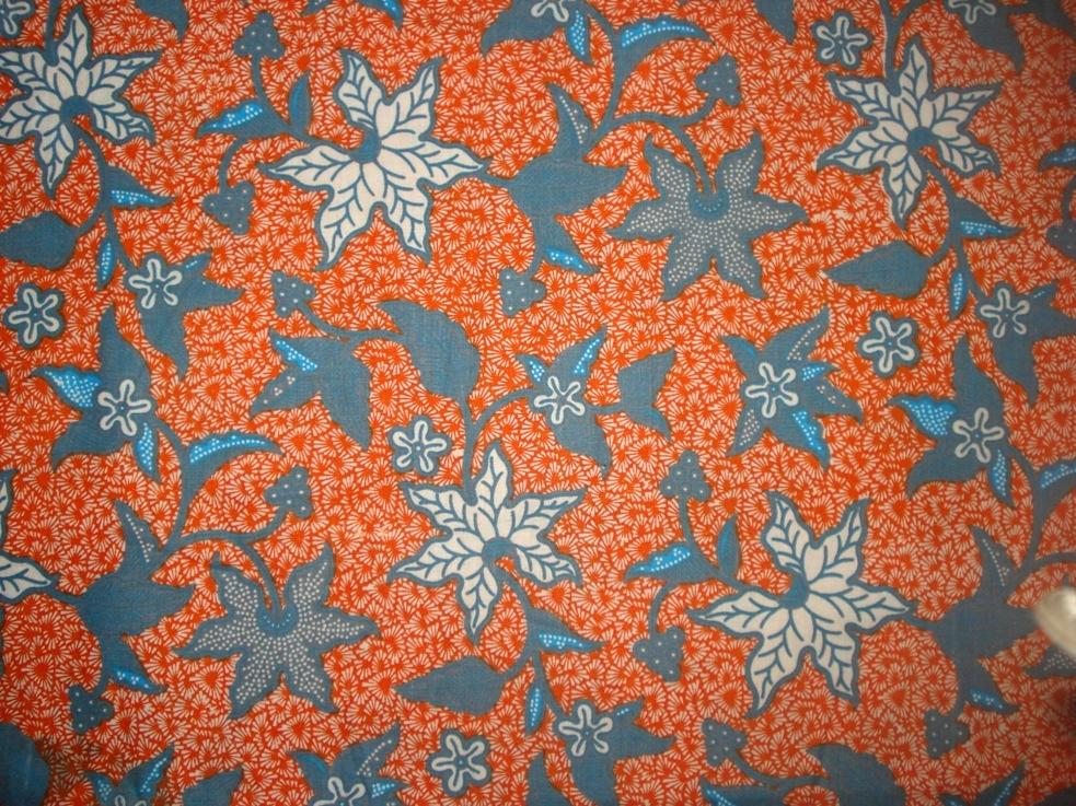 Batik Pekalongan: kain batik cap, bahan katun