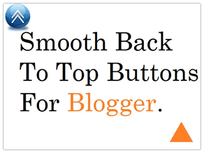smooth scroll back to top blogger widget