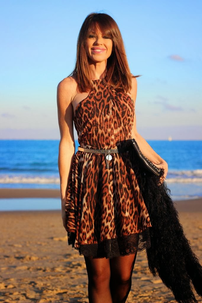 Dress Denny Rose- Leopard print
