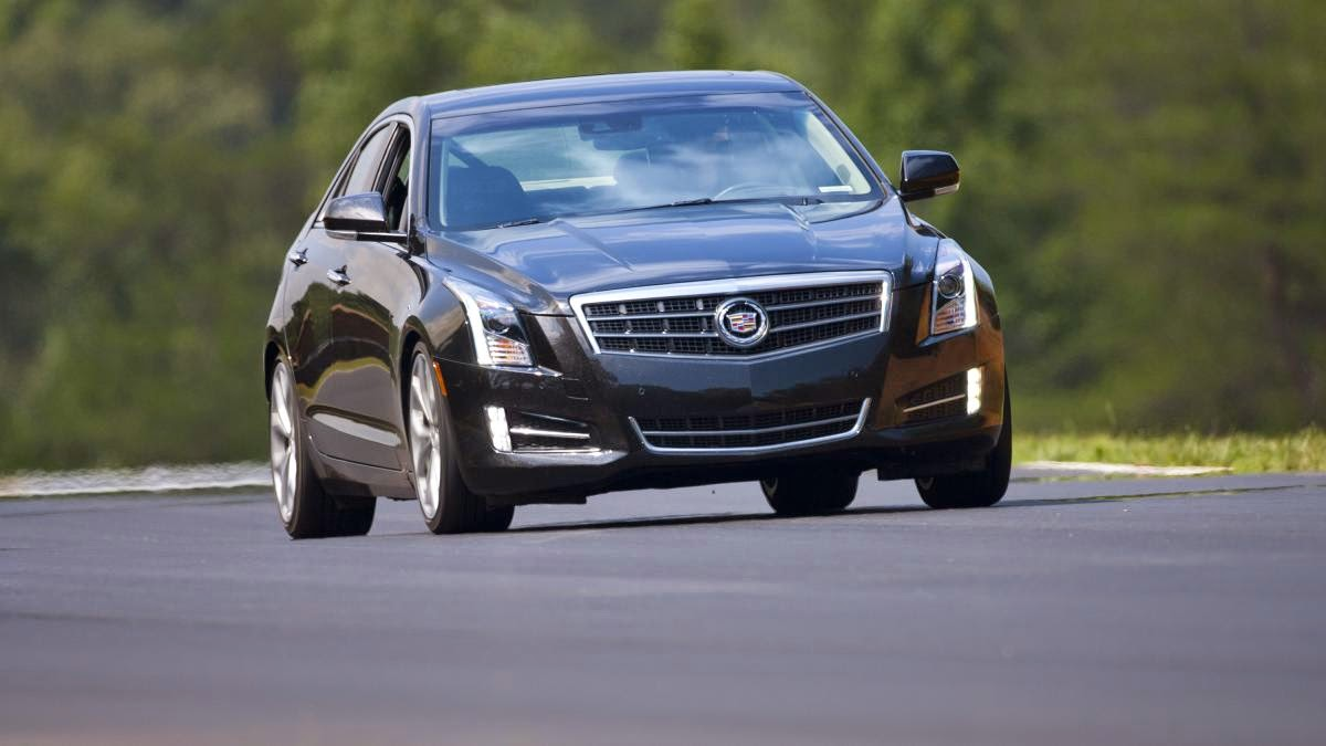 2014 Cadillac ATS 2.0T Premium Collection review notes