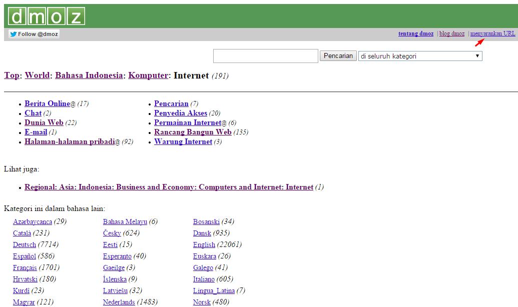 Dmoz Directory 3