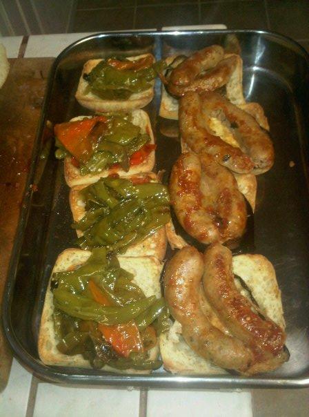 Bistro di Marco: Italian Sausage and Pepper Panini