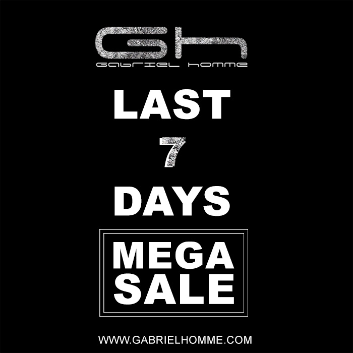 Last days of Sales at Gabriel Homme