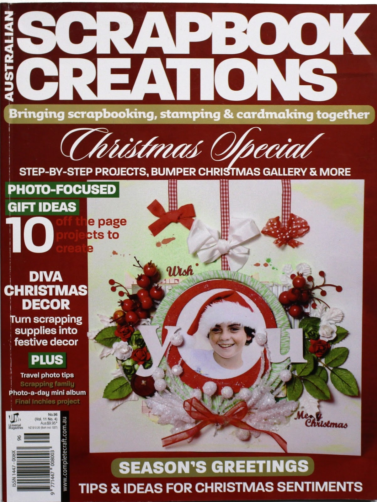 Scrapbook ideas with no photos - Australian Scrapbook Ideas Magazine Australia