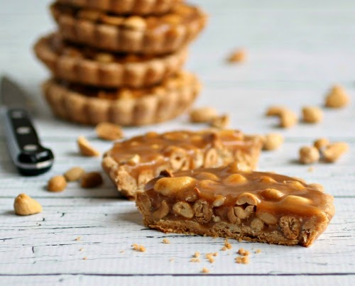 Hungry Couple: Salted Caramel Peanut Pie