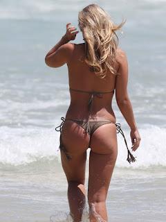 Natasha Oakley in Bikini at a Beach in Sydney 4.jpg