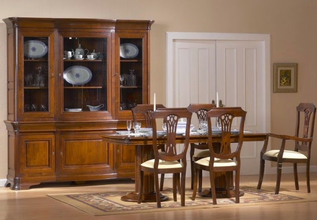 Venta de muebles para sal n y comedor carpintero granada for Muebles de comedor