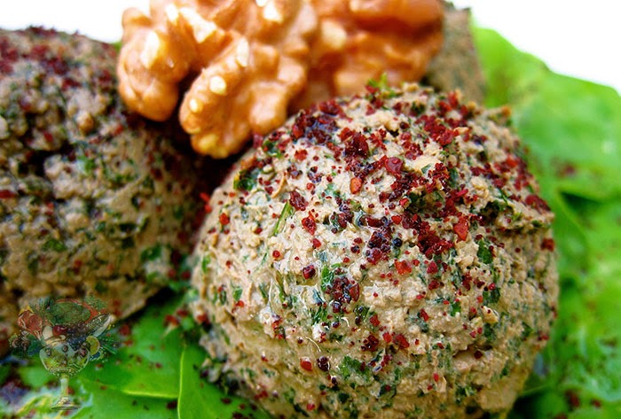 Low carb Christmas food ideas Liver-walnuts-olives