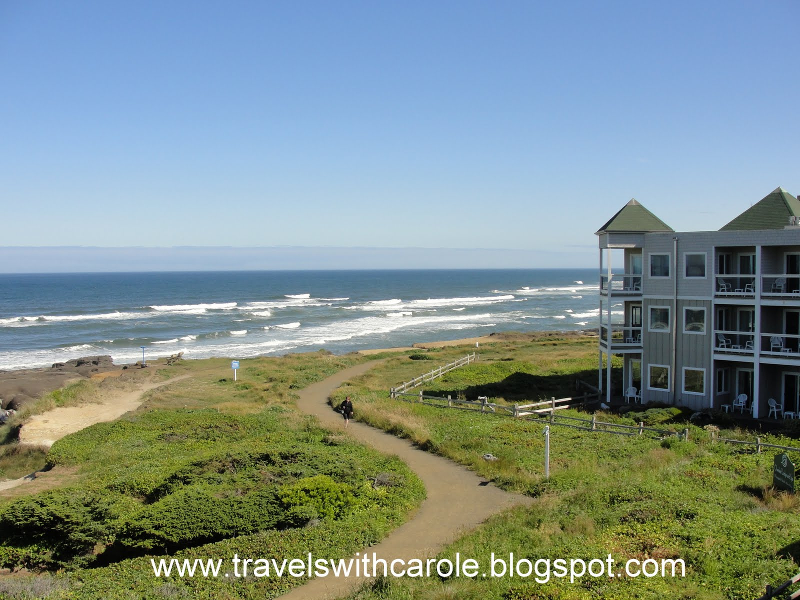 Travels With Carole: Great Sleeps: Overleaf Lodge & Spa, Yachats, Oregon