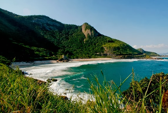 surf beach, Brazilian beaches, Rio surf beach, South America, travel