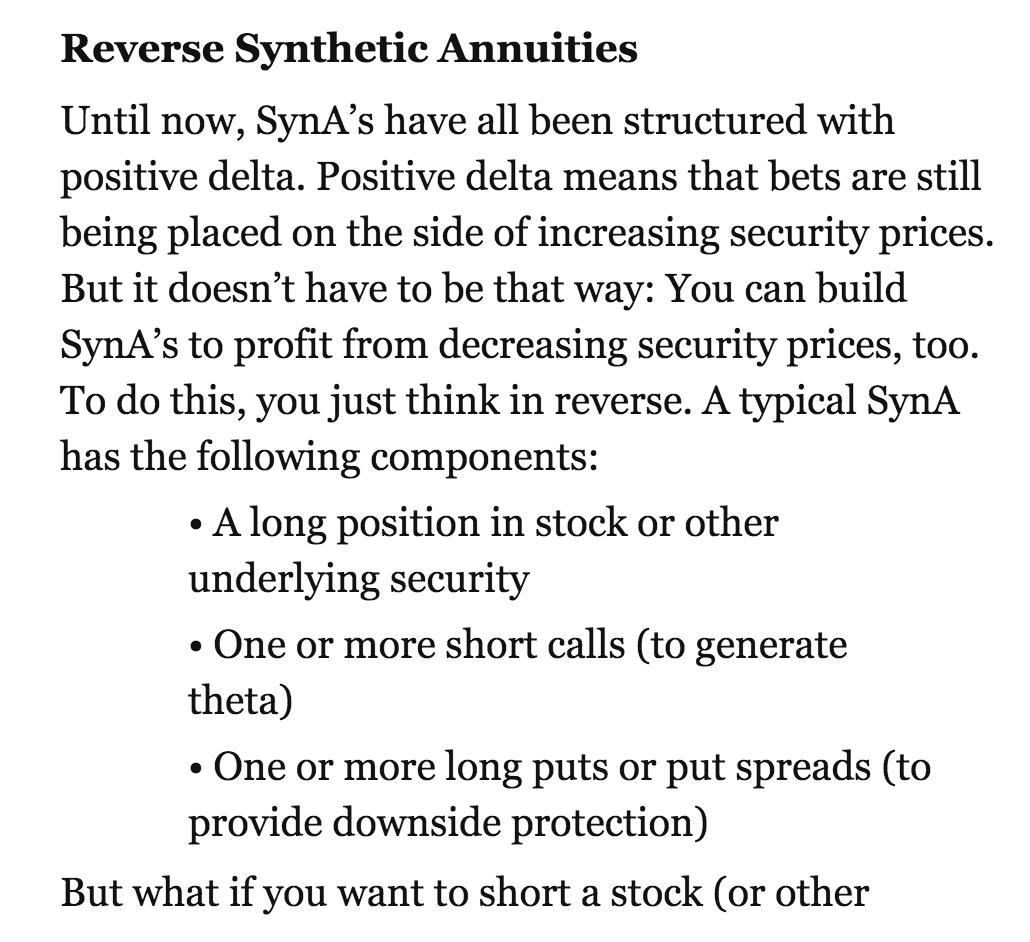 股息 現金流 被動收入 理財的心路歷程: REVERSE synA. 策略-- allan 交易系統