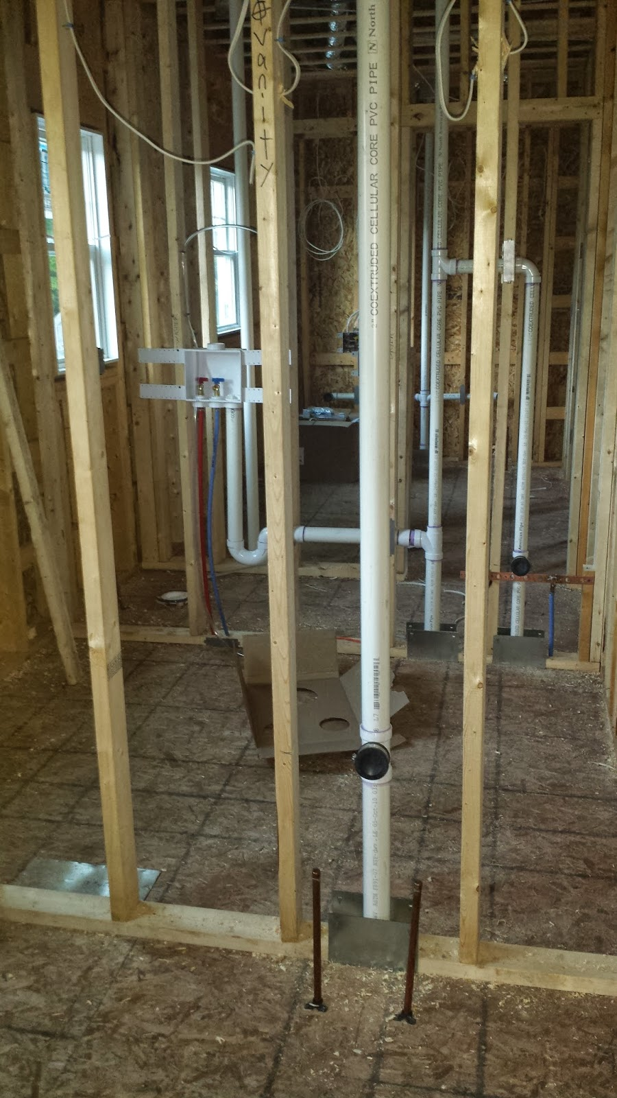 Ocean state home rough plumbing for New construction plumbing rough in