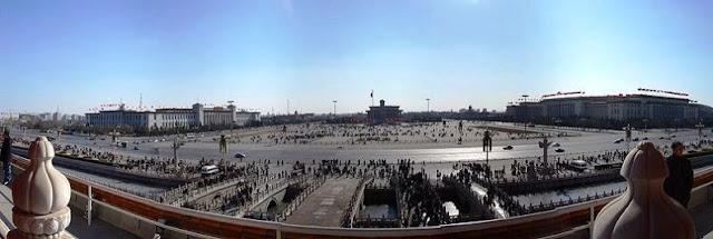 Tempat Wisata di Beijing - Tiananmen Square (Lapangan Tiananmen) Beijing China