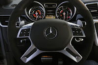 2015 Redesign model ML63 AMG Mercedes-Benz wheel drive view