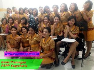 siswi pramugari PSPP Yogyakarta