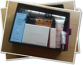 Beauty box contents