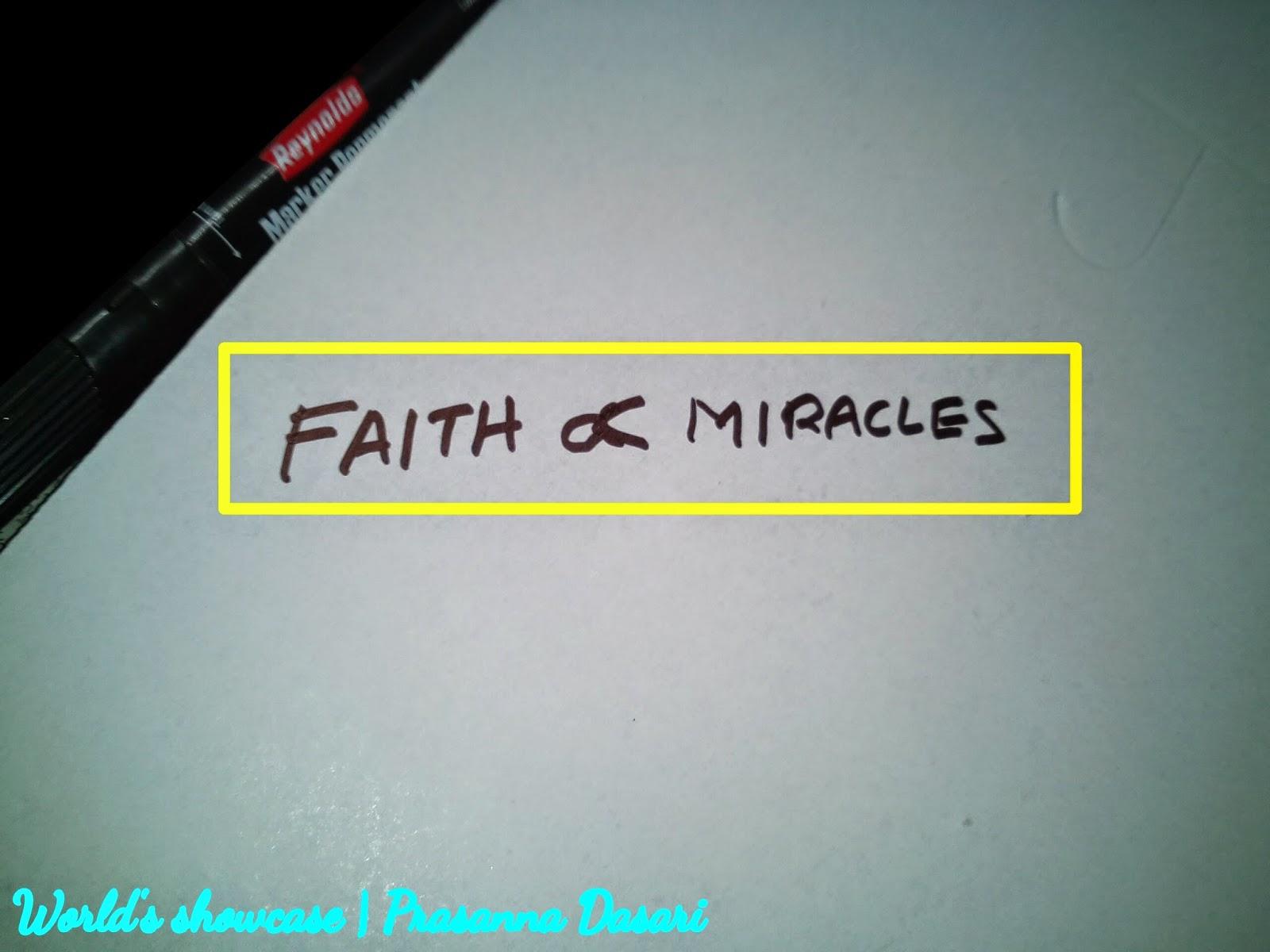 Faith Theorem