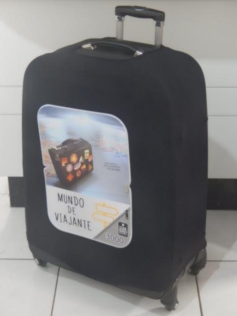 Capa de mala de viagem