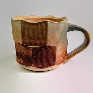 Pottery ash glazes by Lori Buff