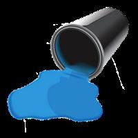 Renders Design Balde-tinta-derramado