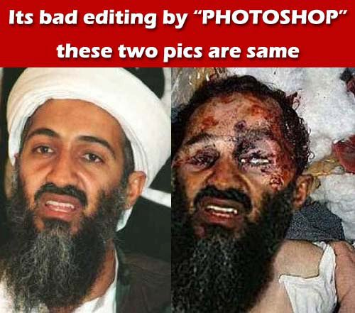 osama bin laden gay. Fake dead Osama Bin Laden pics