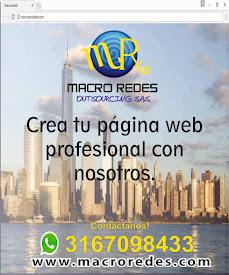 Diseño de páginas web Palmira - Macro Redes