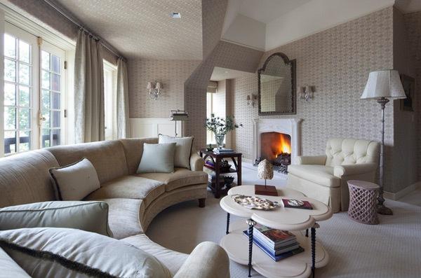 Mempercantik Ruang Tamu dengan Wallpaper Dinding