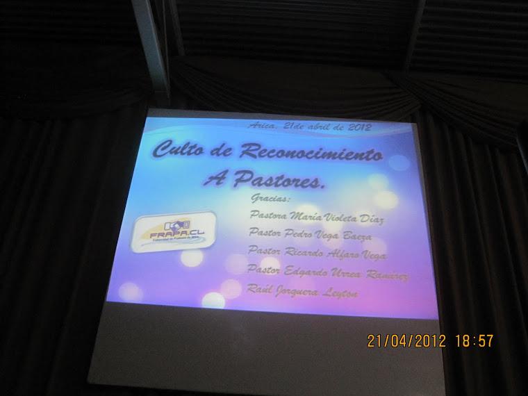Reconocimiento 21 Abril 2012