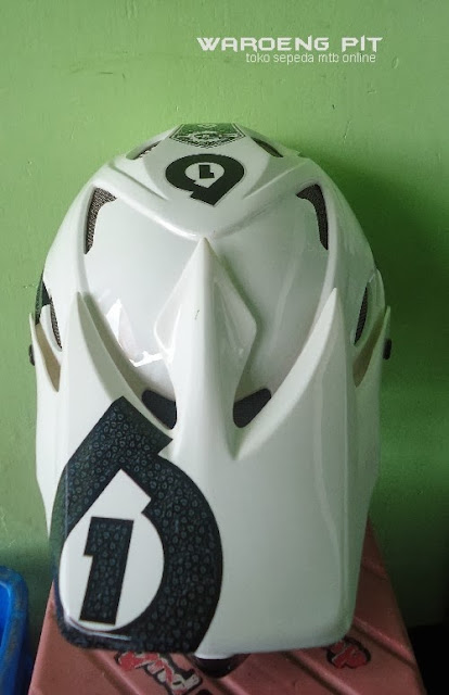 Jual Helmet Full face sixsixone beserta kacamata SSR sepeda balap mtb bmx gunung downhill murah  4