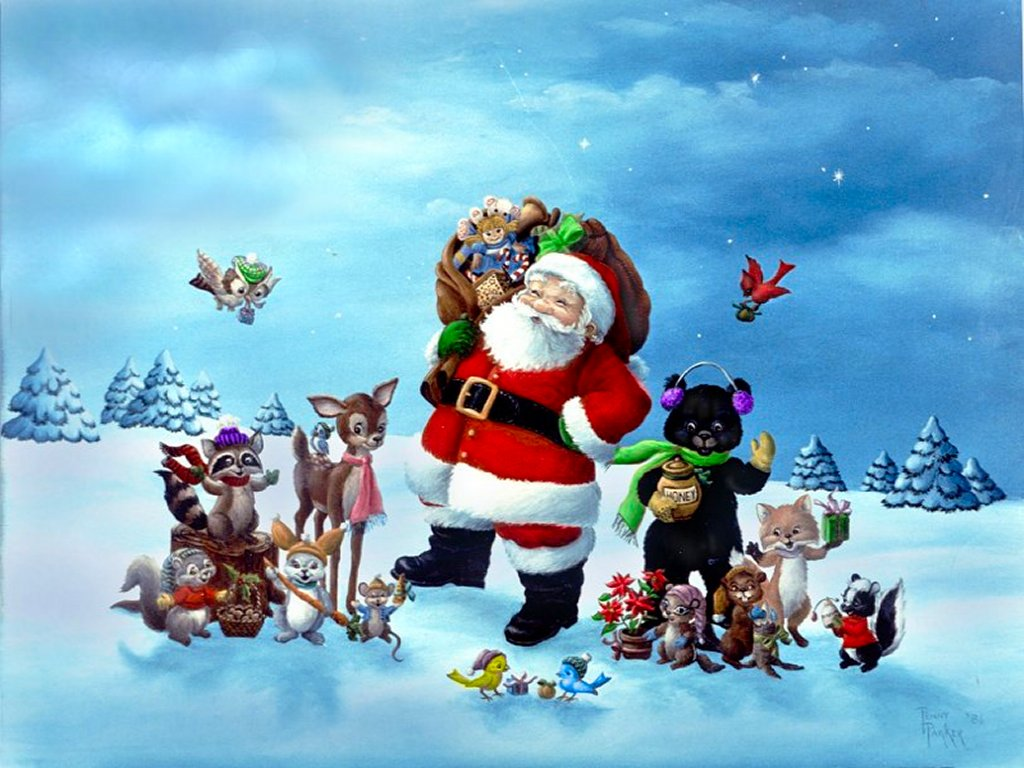 Santa Claus Wallpaper HD