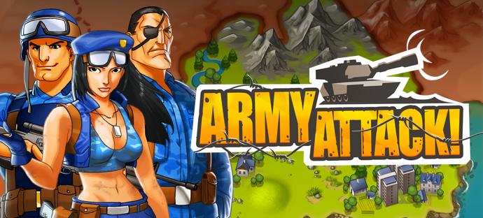 Juego Army Attack de Tuenti