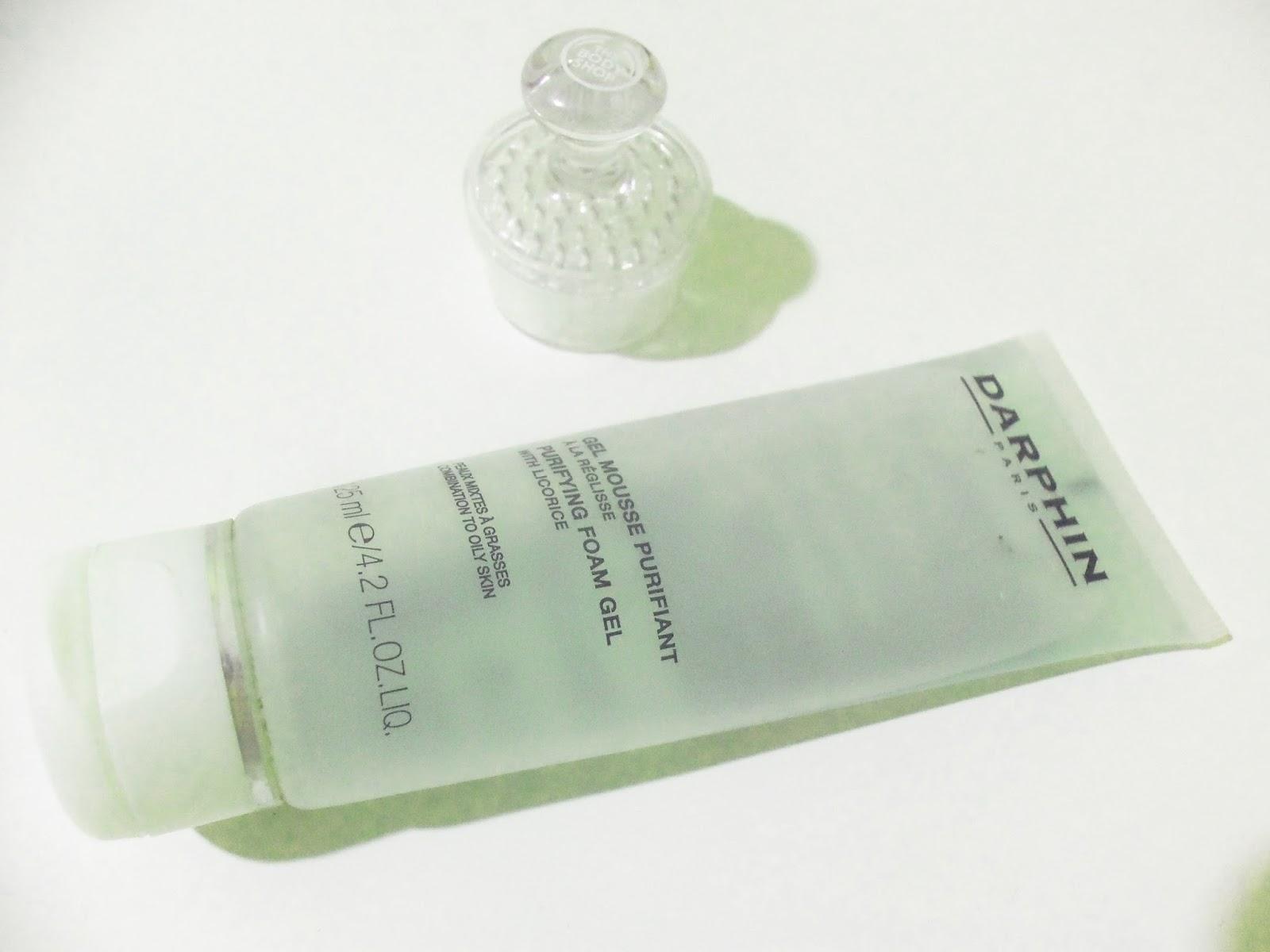 darphin purifying foam gel