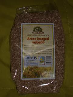 arroz integral redondo