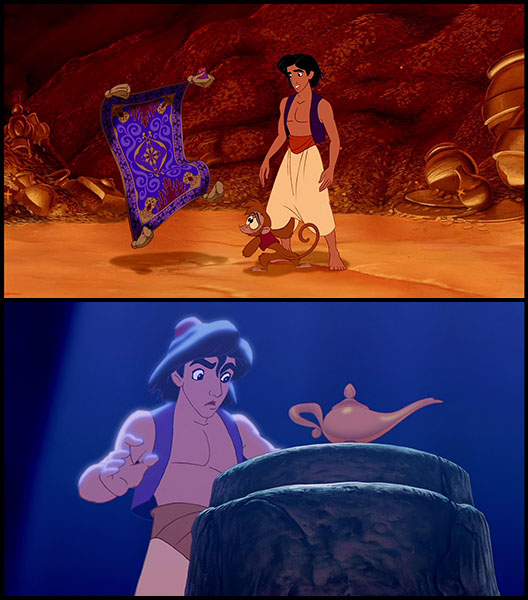 Aladdin rubs jasmine the right way 1
