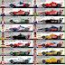 Confira as pinturas dos carros da Indy para a etapa de Long Beach