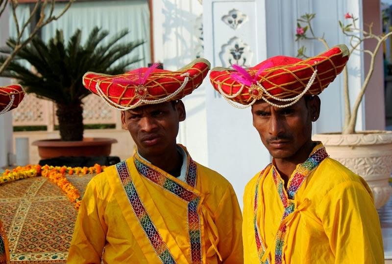 Men carrying Palki