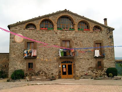 El mas Vilalta actualment casa de colònies