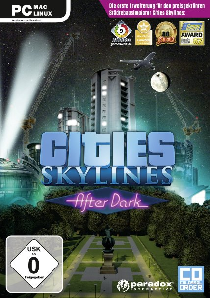 Cities Skylines After Dark PC