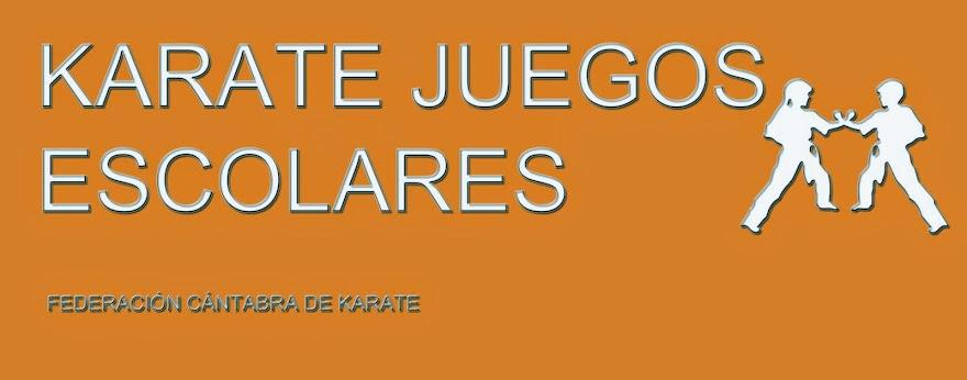 KARATE JUEGOS ESCOLARES