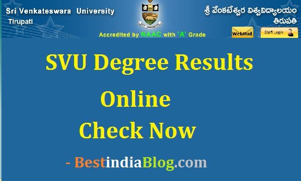 svu degree results