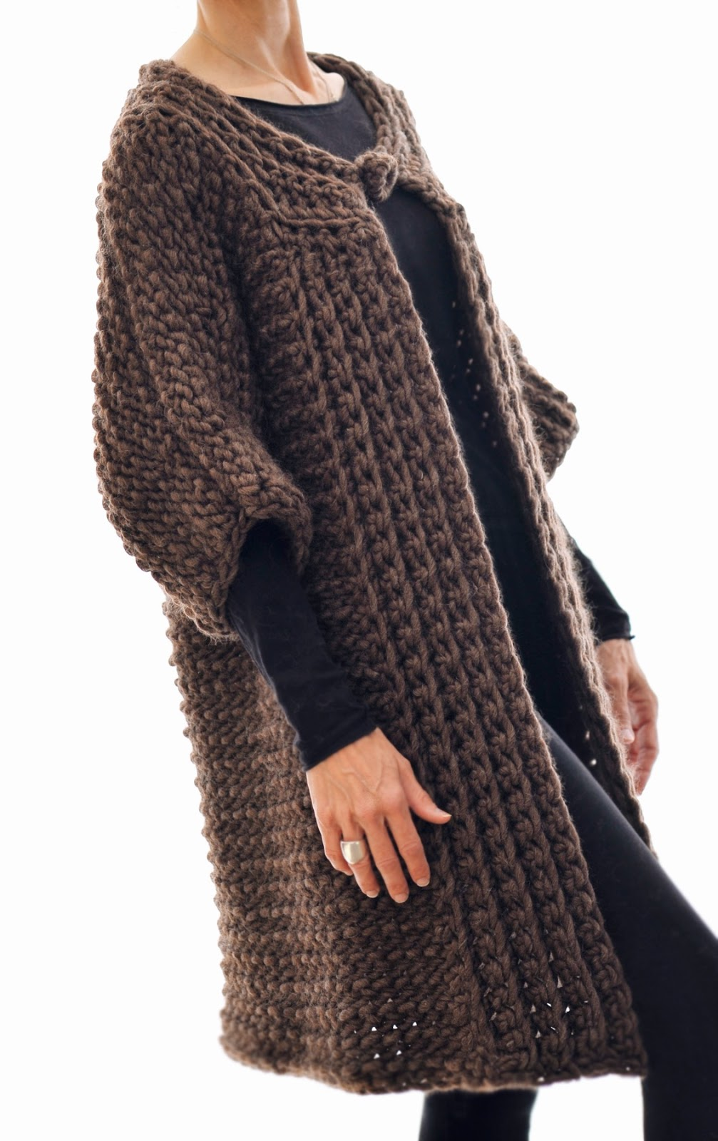 Knit 1 LA: the Swing Coat (Tunisian Crochet)