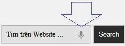 Thêm tìm kiếm giọng nói bằng Google cho Web, Blog