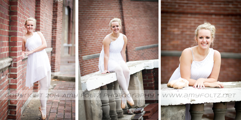 senior photos at Fairbanks Park in Terre Haute
