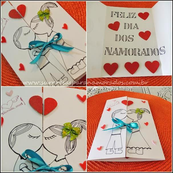 cartão para o namorado