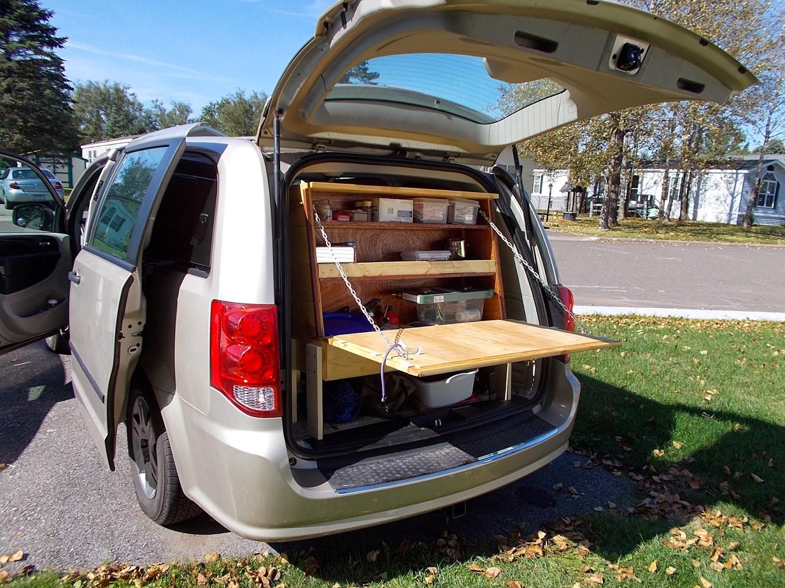 Van dwelling interior at 30 mpg the stealth van