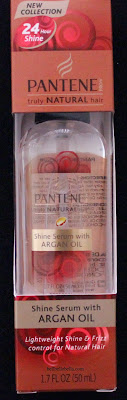 Pantene Truly Natural Hair Shine Serum with Argan Oil