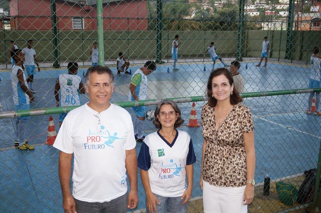 Urbano Von Paumgartten e Maria Lucia Tafuri Ávila, do IHN, acompanham o projeto com a diretora do CEROM, Heloisa Carneiro.